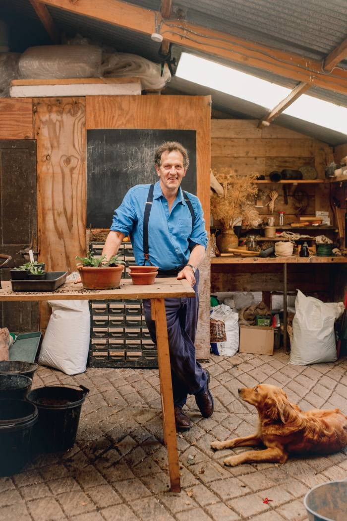 Don in his potting shed