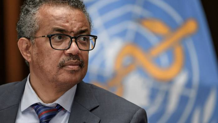 Tedros Adhanom Ghebreyesus, director-general of the WHO, said the inquiry should examine 'whether the global health architecture is fit for purpose'