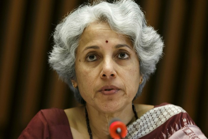 Soumya Swaminathan, chief scientist at the WHO, predicts defeating the virus could take four to five years