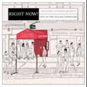 Album cover of 'Right Now! Live at the Village Vanguard' by Dayna Stephens Quartet