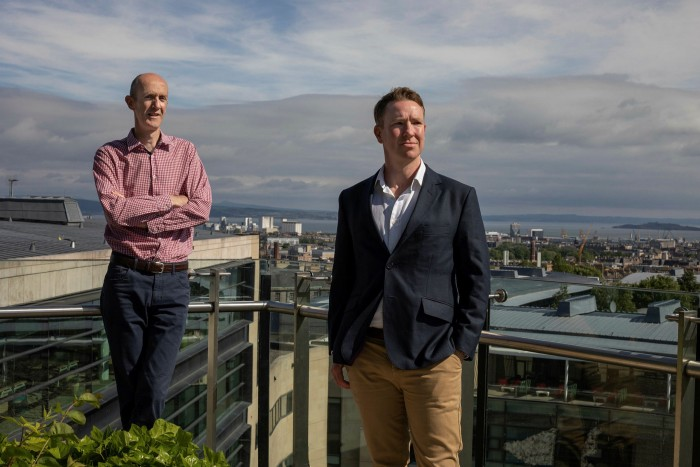 Andrew Telfer and Malcolm McColl, Baillie Gifford's joint senior partners