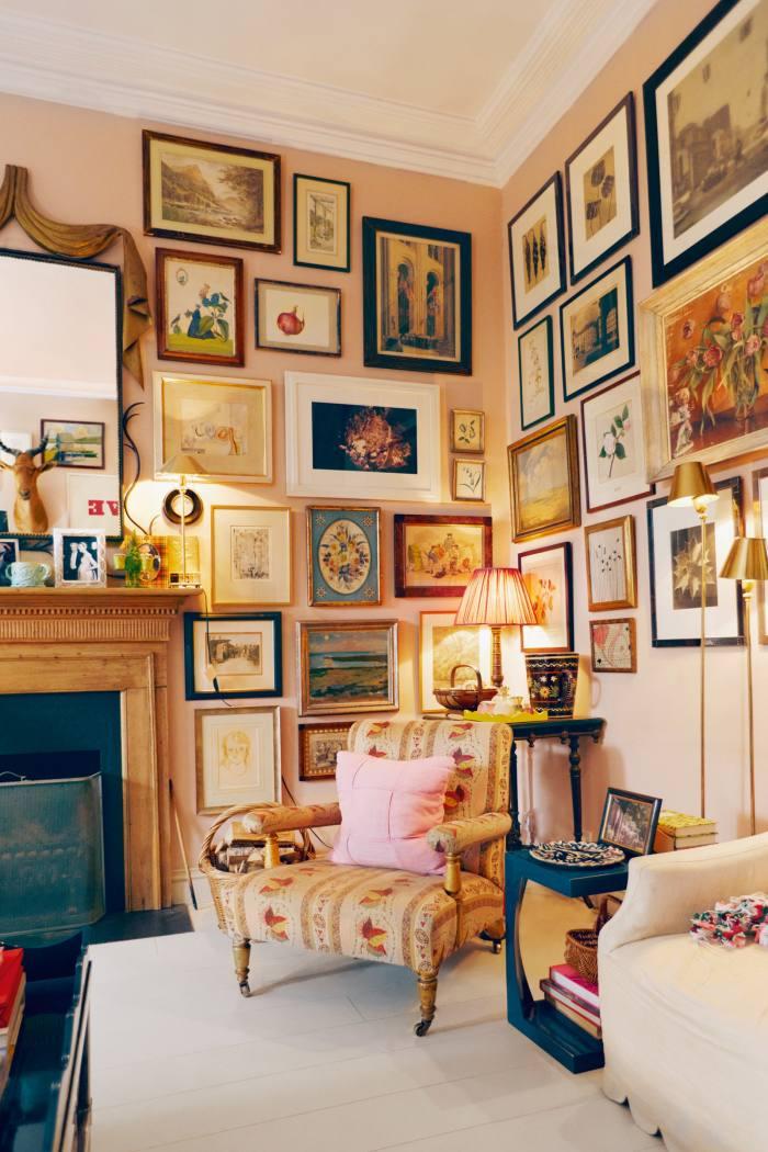Interior designer Rita Konig's granny-chic aesthetic…
