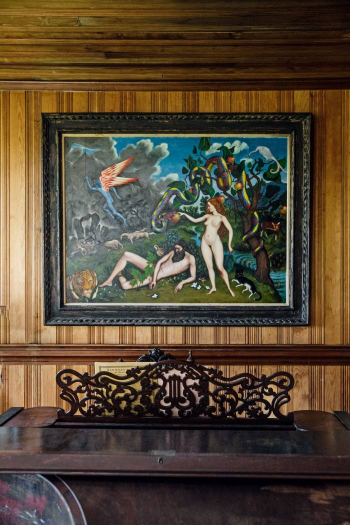 Rosenthal's Adam and Eve painting