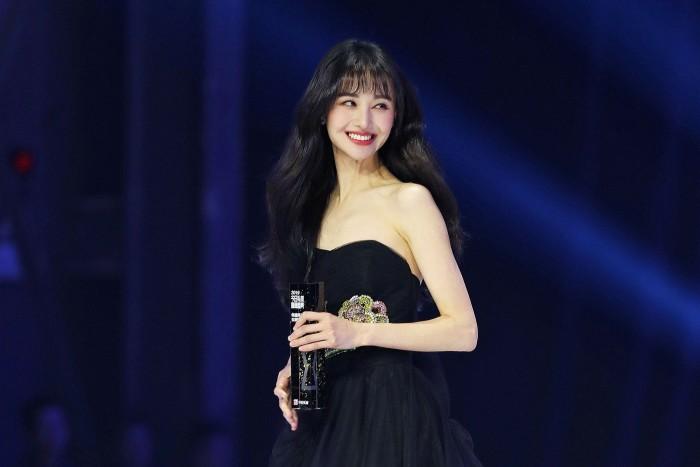 Chinese actress Zheng Shuang