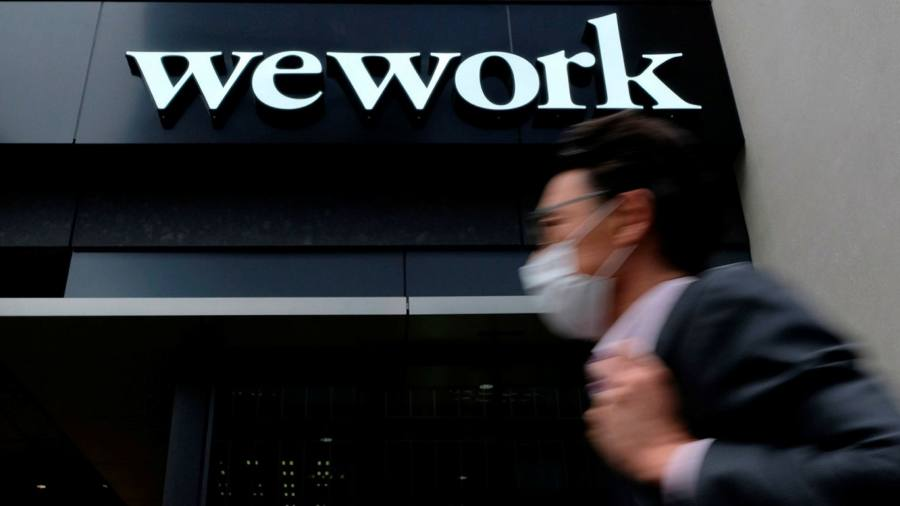 WeWork on track for profits and positive cash flow in 2021, says chairman