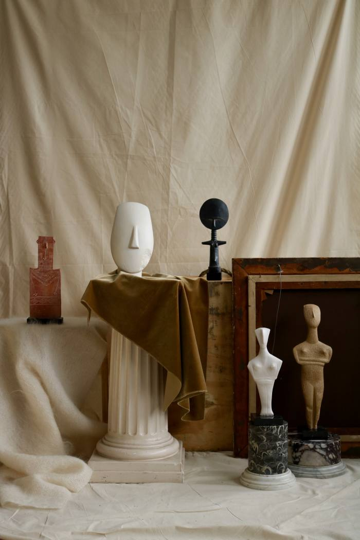 From left: Ashanti figures, from £100. LittleIdol and Woman Idol, £120 each