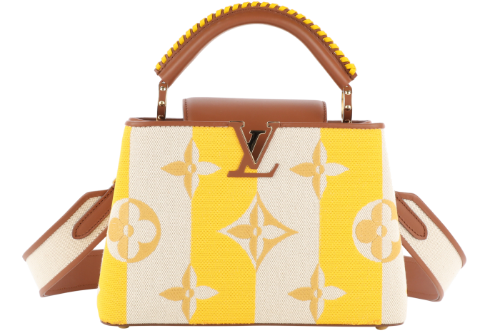 Louis Vuitton cotton and leather Capucines BB bag, £3,700