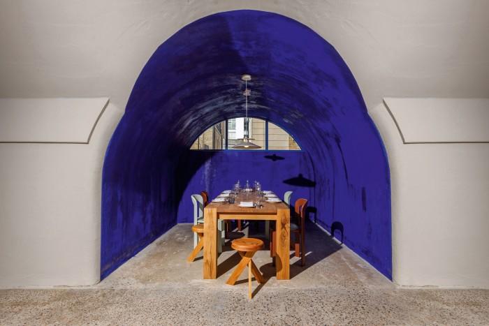 La Cachette, Planque's private eight-seat dining room