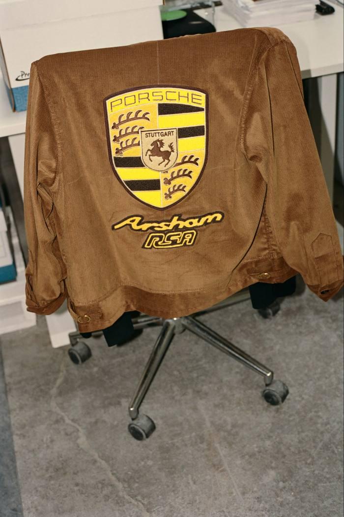 The Arsham RSA Porsche Jacket