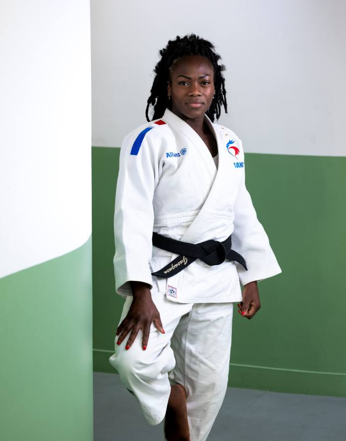 Judo champion Clarisse Agbegnenou found online lessons tiring