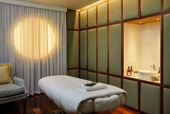 The hotel's wellness, spa and fitness areas have just been renovated