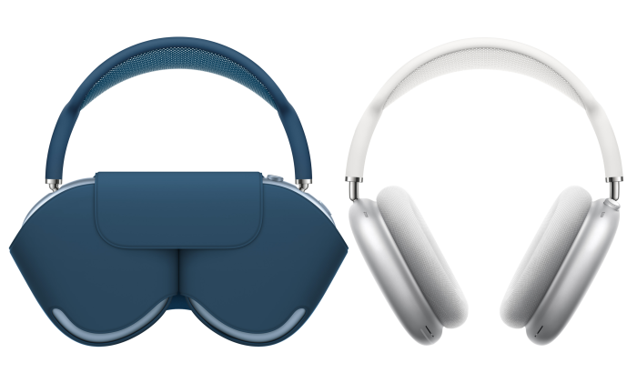 The minimalist case protects the earcups but leaves the headband protruding as a handle