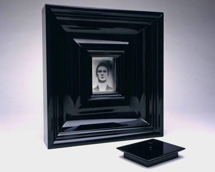 Jason Shulman's ceremonial mirror, in memory of his friend Shaun Lawlor