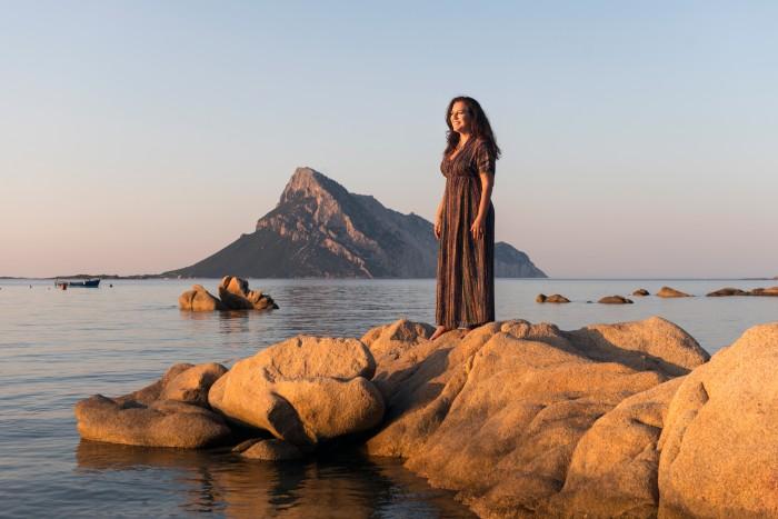 Angela Missoni in Sardinia