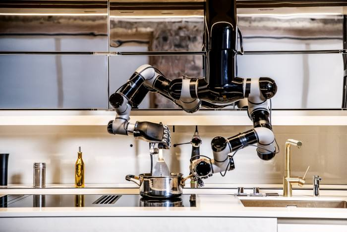 Moley robotic kitchen, from £248,000
