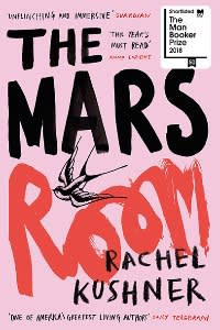 One of Adelman's recent reads: The Mars Room by Rachel Kushner