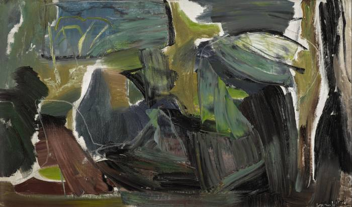 Spring Light Over Foliage, c1945, by Ivon Hitchens