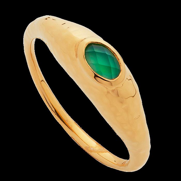 Monica Vinader's Deia gemstone ring
