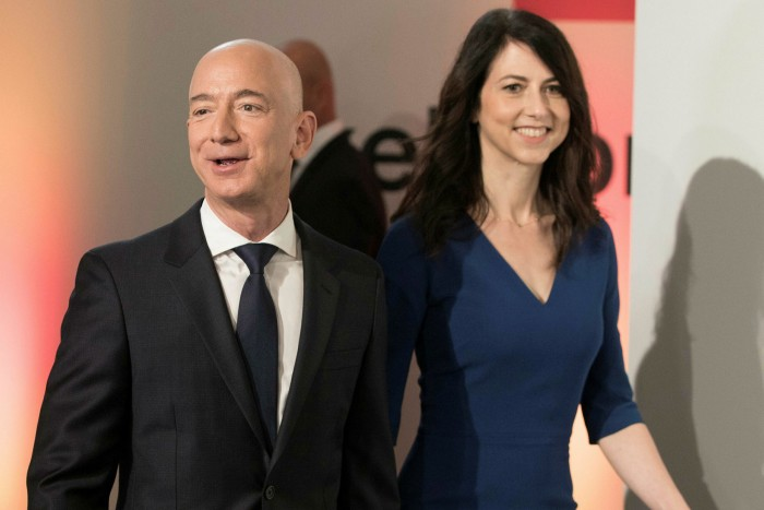 MacKenzie Scott, ex-wife of Amazon's Jeff Bezos, joined forces with Melinda Gates's Pivotal Ventures to back a $40m 'Equality Can't Wait' initiative to improve gender equality