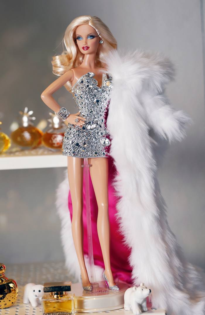 Barbie wears Gianni Versace, 2019
