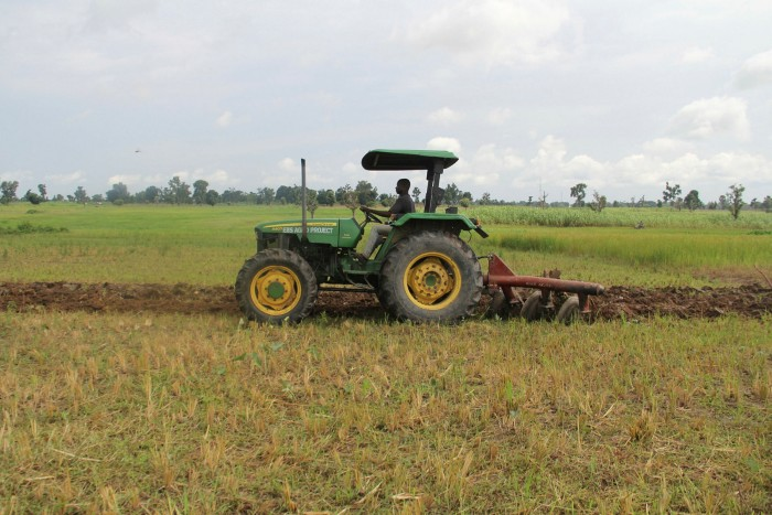 On a mission: an Alluvial tractor in Nasarawa