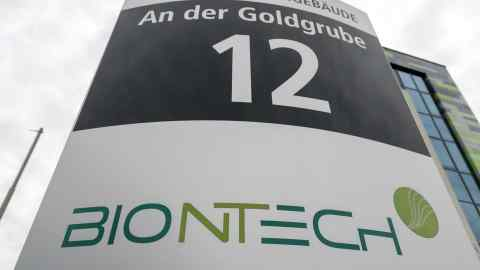 Fosun And Biontech Launch 135m Vaccine Hunt For Coronavirus Financial Times