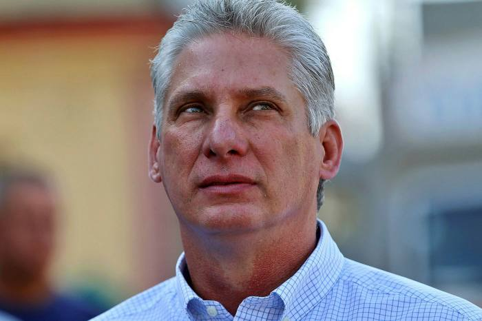 Cuba's president Miguel Diaz-Canel says the country must 'learn to live with fewer imports'.