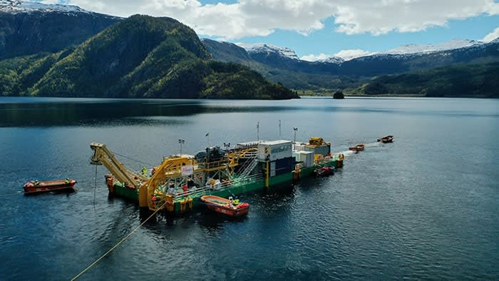 The North Sea Link, the world's longest subsea electricity cable, will allow Norway to export hydropower to the UK