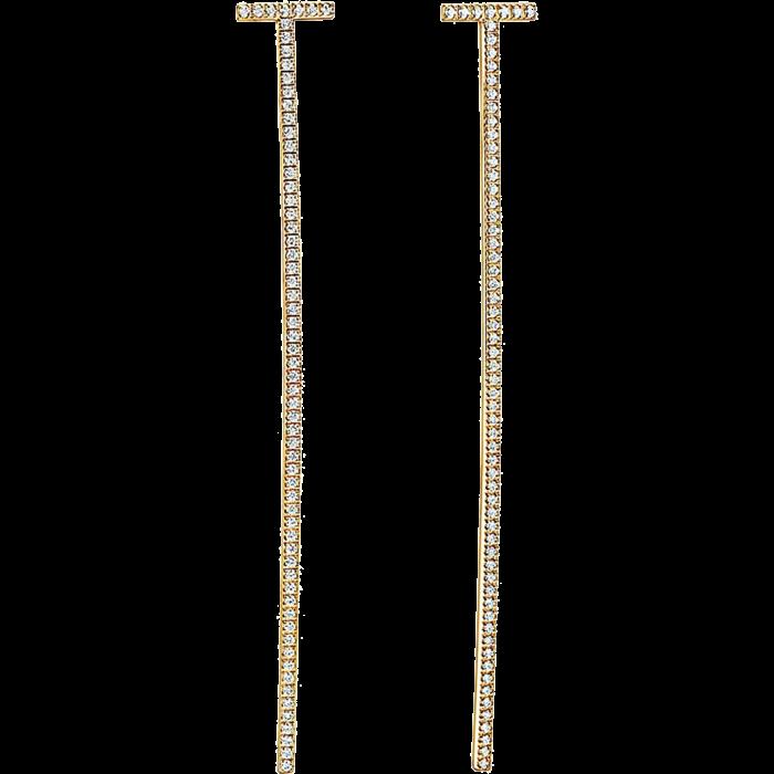 Sophie Billie Brahe gold and diamond Georgie Grande earrings, POA