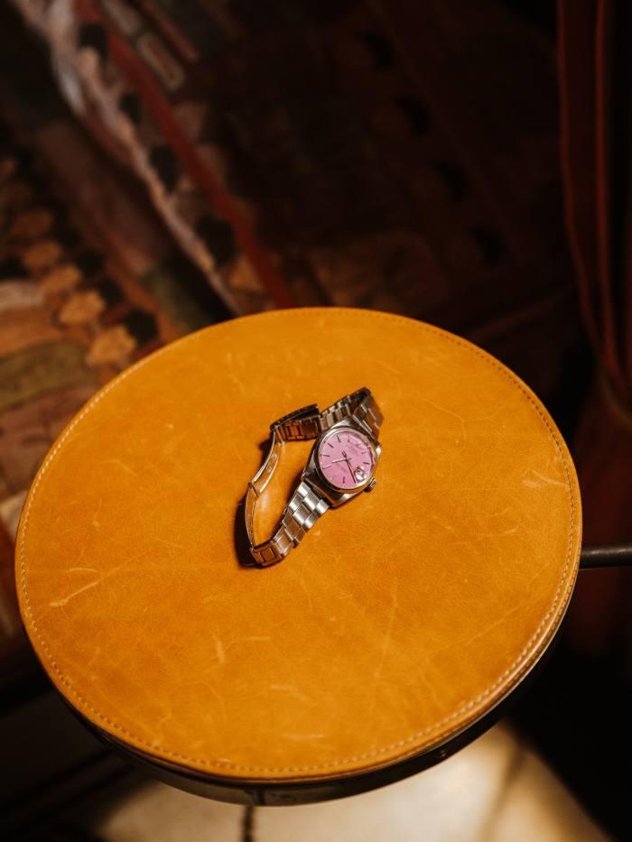 His vintage Rolex – a recent gift
