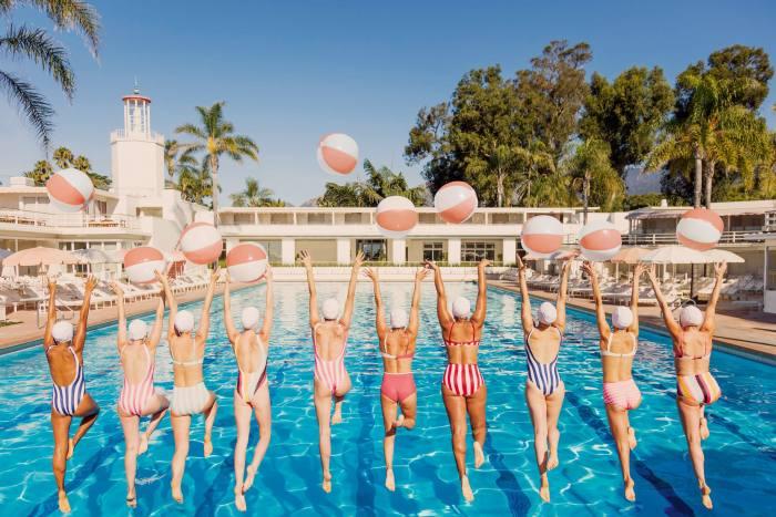 Beach Ball Splash, by Gray Malin