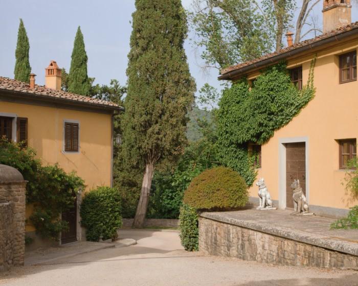 The family has completely restored the estate since Ferruccio Ferragamo bought it in 1993