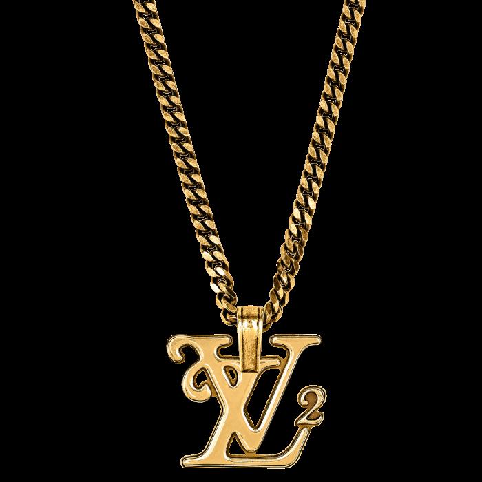 Louis Vuitton Squared LV necklace, £605