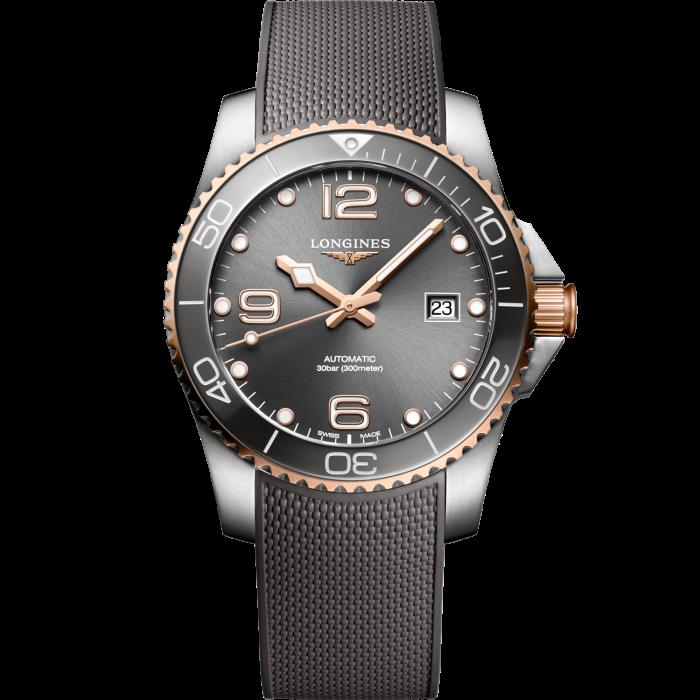 Longines steel HydroConquest 300M dive watch, £1,500