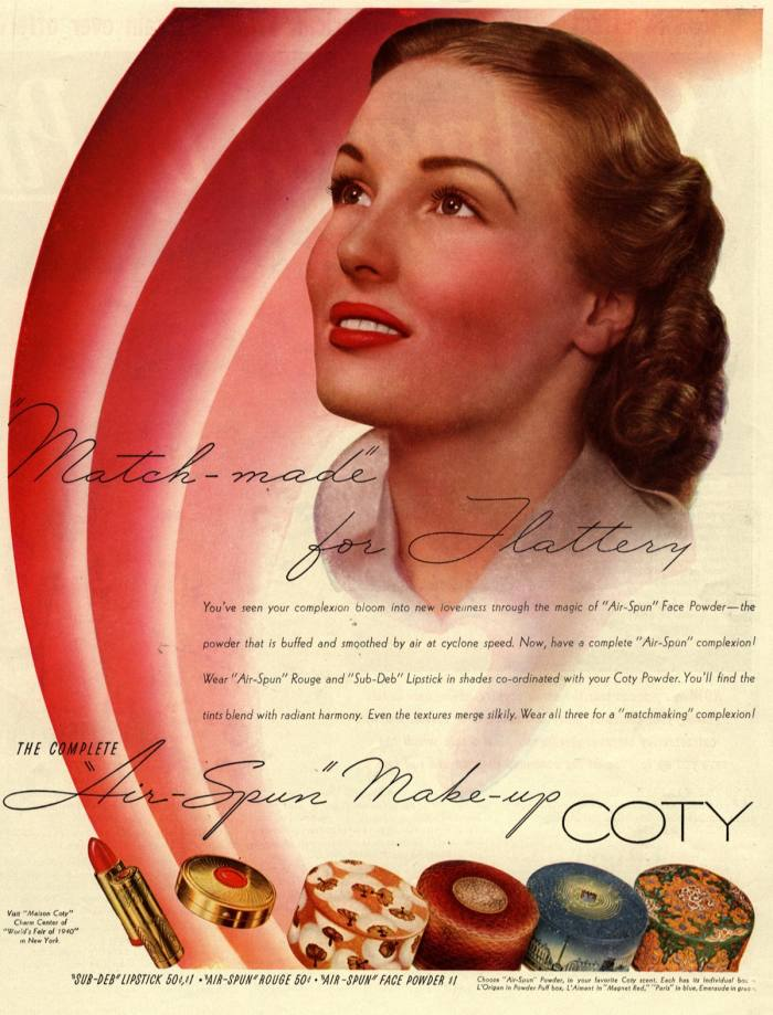 A classic advert for British cosmetics giant Coty