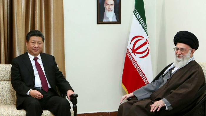 Supreme Leader Ayatollah Ali Khamenei meets with Chinese president Xi Jinping. Tehran's dalliance with Beijing may turn out to be a way of signalling it has options