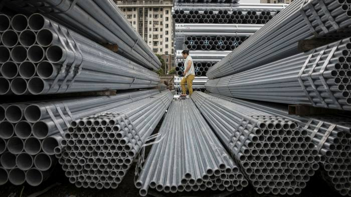 China turns to steel to galvanise post-Covid economy   Financial Times
