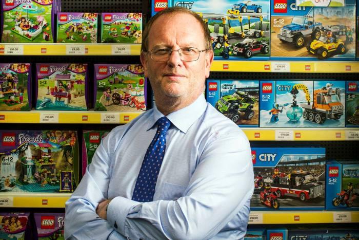 Gary Grant, director general de la cadena de juguetes The Entertainer