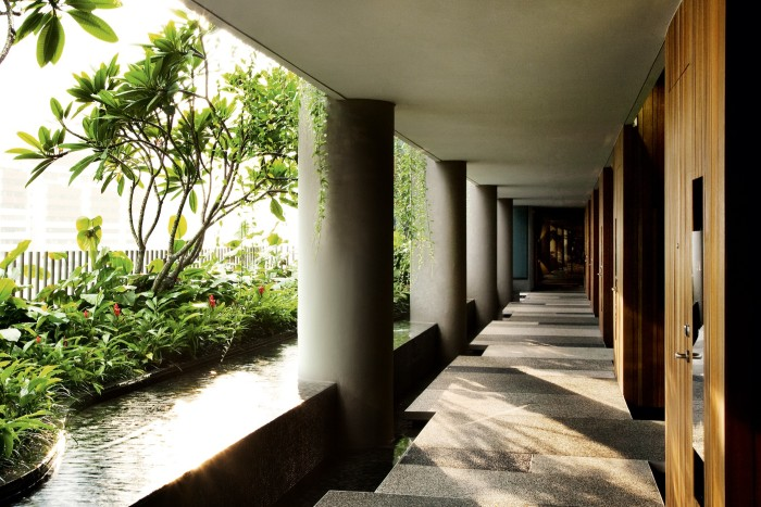 The Park Royal Pickering Hotel, Singapore, from WOHA