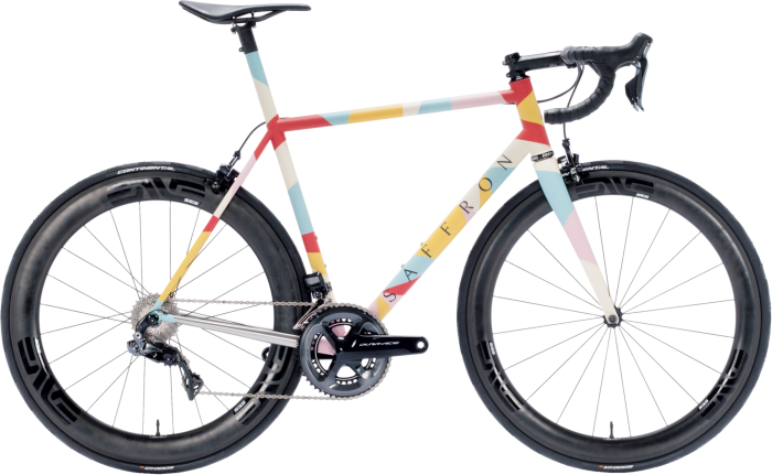 Each of the 52 bikes built annually by Saffron Frameworks is unique