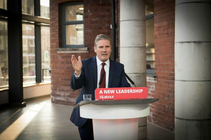 Keir Starmer, leader of the opposition Labour party, ​launched a stinging attack on the Johnson government saying it was incompetent and holding the country back ​
