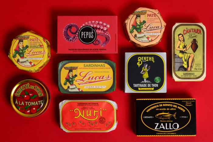 TheTinned Fish Market subscription, from £45for three months