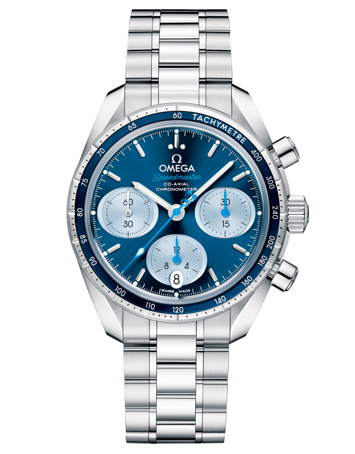 """Omega donates part of all sales of its Omega Speedmaster 38mm """"Orbis"""" (£4,360) to Orbis International and its Flying Eye Hospital"""
