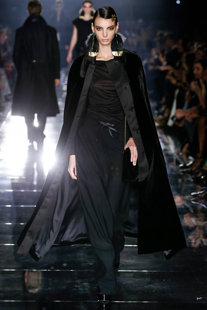 Tom Ford cape, £3,386