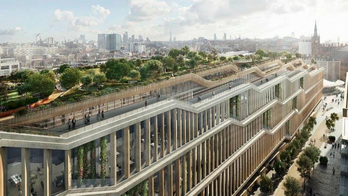 Thomas Heatherwick's new Google headquarters in King's Cross, London