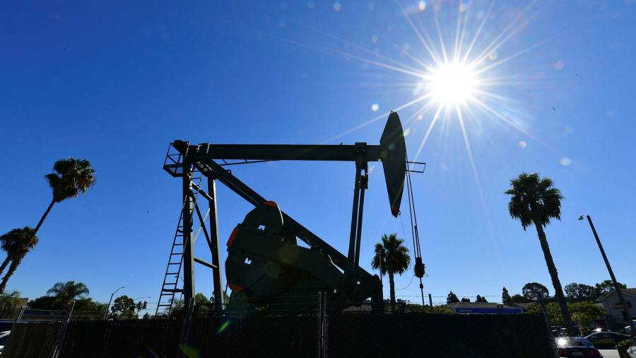 US crude oil price hits 18-year low below $20