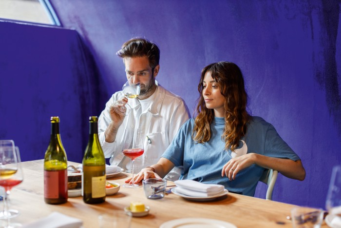 Jonathan Alphandery and Bianca Riggio, founders of Planque