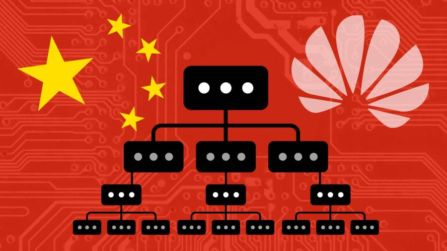 China and Huawei propose reinvention of the internet