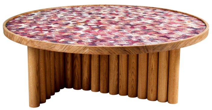 Fernando Laposse oak and Totomoxtle table, €5,800