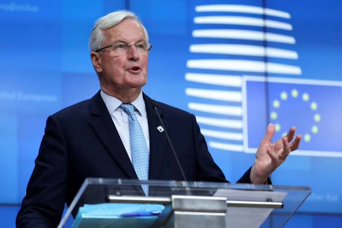 Negotiating teams led by Mr Barnier and David Frost, his British counterpart, could take a break on Wednesday to reflect on progress, according to one person briefed on the matter